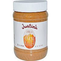Justins Nut Butter, Миндальное масло с ванилью, 16 унций (454 г)
