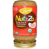 Nuttzo, Хрустящее масло из семи видов орехов и семян, 16 унций (454 г)