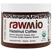 Rawmio, Organic, Hazelnut Coffee, 6 oz (170 g)