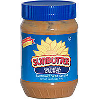 SunButter, Natural Crunch, спред из семян подсолнечника, 16 унций (454 г)