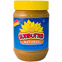 SunButter, Натуральный спред из семян подсолнуха, 16 унций (454 г)