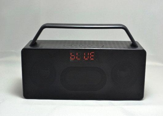 Мини динамик Bluetooth JC-186 (красный, голубой, серебро, черный)