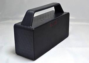 Мини динамик Bluetooth JC-186 (красный, голубой, серебро, черный), фото 2