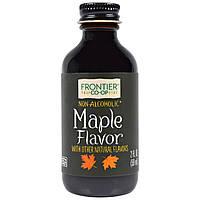 Frontier Natural Products, Кленовая приправа, без спирта, 2 жидких унции (59 мл)