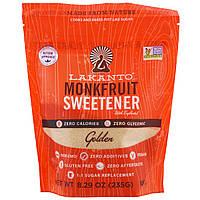 Lakanto, Monkfruit Sweetener with Erythritol, Golden, 8.29 oz (235g)