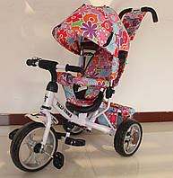 Велосипед трехколесный TILLY Trike T-344-1 БЕЛЫЙ