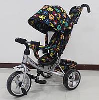 Велосипед детский 3-х колесный TILLY Trike T-344-4 СЕРЫЙ