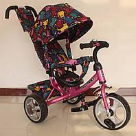 Велосипед трехколесный TILLY Trike T-344-5 РОЗОВЫЙ