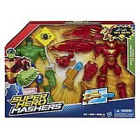 Разборные фигурки супергероев Халк и Халкбастер - Hulk and Hulk Buster, Super Hero Mashers, Marvel, Hasbro