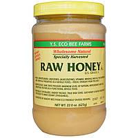 Y.S. Eco Bee Farms, Y.S. Eco Bee Farms, необработанный мед, категория А в США, 22,0 унции (623 г)