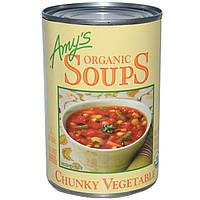 Amys, Органический суп с кусочками овощей, 14,5 унций (411 г)
