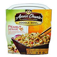 Annie Chuns, Тарелка лапши, арахис и кунжут, мягкая, 8,8 унц. (250 г)