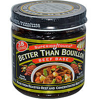 Better Than Bouillon, Superior Touch, Говяжья основа 8 унции (227 г)