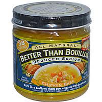 Better Than Bouillon, Основа из жареной курицы, уменьшенное количество натрия, 8 унций (227 г)