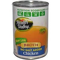 Health Valley, Бульон, куриный, 14,25 унций (403 г)