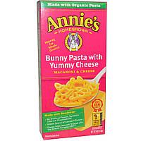 Annies Homegrown, Макароны с сыром, паста с вкусным сыром, 6 унций (170 г)