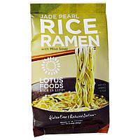 Lotus Foods, Рисовый рамэн Нефритовая жемчужина, мисо суп, 10 пакетов, по 2,80 унции (80 г) каждый