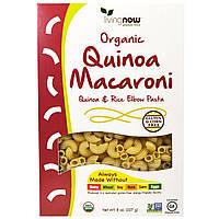 Now Foods, Органические макароны из киноа, без глютена 8 унций (227 г)