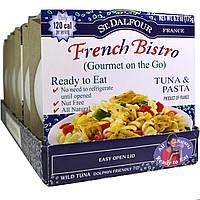 St. Dalfour, Gourmet on the Go, французское бистро, тунец и макароны, 6 упаковок, 6,2 унции (175 г) каждая