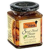 Kitchens of India, Чатни из кусочков сладкого Манго, 10.5 унций (300 г)