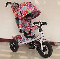 Велосипед трехколесный для девочек TILLY Trike T-363-1 БЕЛЫЙ