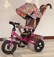 Велосипед трехколесный TILLY Trike T-363-2 МАЛИНОВЫЙ