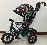 Детский велосипед трехколесный TILLY Trike T-363-4 БИРЮЗОВЫЙ