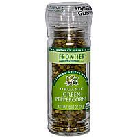 Frontier Natural Products, Органический зеленый перец горошком, 0,92 унции (26 г)