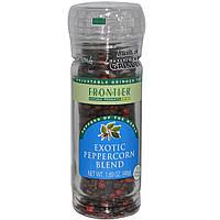 Frontier Natural Products, Смесь экзотических перцев горошком, 1,69 унции (48 г)