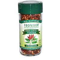 Frontier Natural Products, Красный перец чили, измельченный, 1,20 унции (34 г)