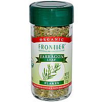 Frontier Natural Products, Органические сушеные листья эстрагона, 0,42 унции (12 г)