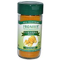 Frontier Natural Products, Корень куркумы, молотый, 1,92 унции (54 г)