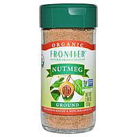 Frontier Natural Products, Органический мускатный орех молотый, 1,90 унции (53 г)