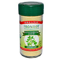 Frontier Natural Products, Органические семена пажитника, молотые, 2,00 унции (56 г)