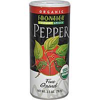 Frontier Natural Products, Органический черный перец, тонкого помола, 2,5 унции (70,9 г)