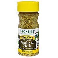 Frontier Natural Products, Органический чеснок и смесь из трав 2.7 унции (76 г)