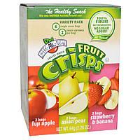 Brothers-All-Natural, Набор разных фруктовых чипсов, 6 порционных пакетиков