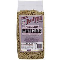 Bobs Red Mill, Нарезанные кубики сушеных яблок, несладкие, 6 унций (170 г)