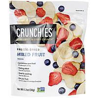 Crunchies Food Company, Смесь сублимированных сухофруктов, 1,2 унции (34 г)