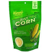 KarensСвекольный сок, Premium Freeze-Dried Veggies, Just Corn, 8 oz (224 g)