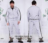 Спортивный костюм 1068 светло-серый R-9079