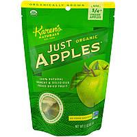 KarensСвекольный сок, Органические яблоки сушеные Just Apples, 1,5 унции (42 г)