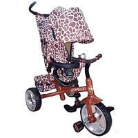Велосипед 3-х колесный колясочного типа TILLY ZOO-TRIKE T-342 BROWN