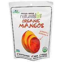Natierra Natures All , Органический сублимированный манго, 1,5 унции (42.5 г)