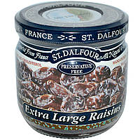 St. Dalfour, Сверх-крупный изюм, 7 унций (200 г)