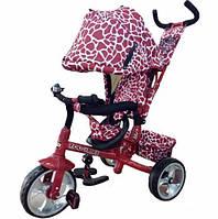 Велосипед трехколесный детский TILLY ZOO-TRIKE T-342 DARK RED