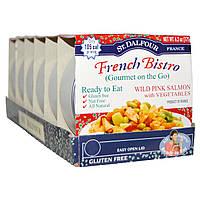 St. Dalfour, Французское бистро, горбуша с овощами, 6 упаковок, 6,2 унции (175 г) каждая