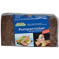 Mestemacher, Пумперникель из цельнозерновой ржаной муки, 17.6 унций (500 г)