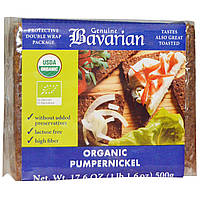 Bavarian Breads, Органический хлеб из ржаного шрота, 17,6 унций (500 г)