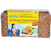 Mestemacher, Хлеб из семян подсолнечника с цельными ржаными зернами, 17.6 унций (500 г)